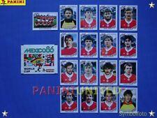 Panini★WM 1986 WorldCup WC 86★Team Ungarn Komplett-Satz / Hungary complete set
