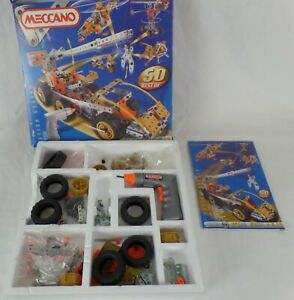 Meccano 9550 motion system 50 Best of 605 parts 50 models, 8-13yrs