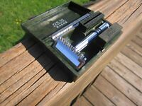 Nice Gem Micromatic Open Comb Type Silver Tone SE Safety Razor w/Original Case