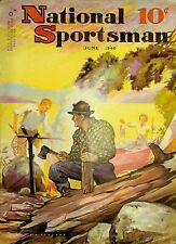 Vintage National Sportsman Magazine June 1940 Hunting Fishing