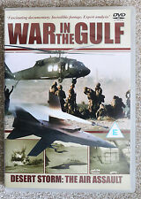 """War in the Gulf Desert Storm:The Air Assault"" DVD Excellent"