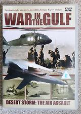 """""""War in the Gulf Desert Storm:The Air Assault"""" DVD Excellent"""