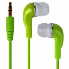 Green Ultra Bass Super Sound Earbud Earphones For Nokia Lumia 920