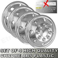 "16"" Mercedes Sprinter Chrome Wheel Trims Motorhome American Style Hub Caps x 4"