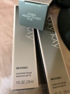 mary kay cc cream  MEDIUM TO DEEP Ex 08/2021