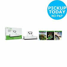 Xbox One S All Digital Edition & 3 Game Console Bundle - White