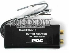 PAC SNI-15 Line Out Converter for Adding an Amplifier to a Factory Radio