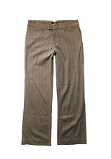 NEW RIDERS BY LEE WOMENS STRETCH TWILL COTTON DRESS PANTS CAREER TROUSERS SZ 12