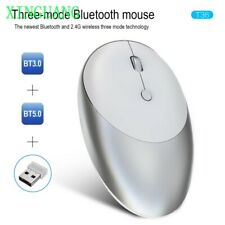 Wireless three-mode Bluetooth 5.0/3.0 mouse 2.4G wireless mouse silent design
