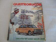 QUATTRORUOTE Dicembre 1975