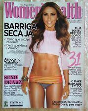 BRAZIL WOMEN'S HEALTH Magazine Cover LALA NOLETO SEPTEMBER 2014 VG