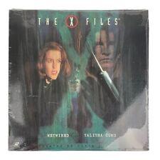 "The ""X"" Files Wetwired/Talitha Cumi Laserdisc Season 3 Ep 23,24 SEALED"