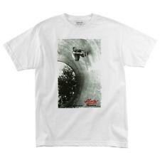 Alva Skates Bill Danforth LIMITED EDITION PHOTO Skateboard T Shirt WHITE XL