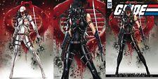 GI JOE A REAL AMERICAN HERO 246 COMICXPOSURE A B C VARIANT 3 PACK PRE-SALE 11/29