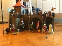 PLAYMOBIL Knights Vintage Set #3446 Small Castle 100% Complete Lot