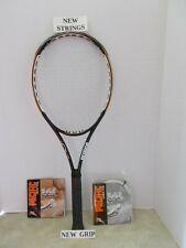 Prince Ozone Tour MP100 Tennis Racquet 4 3/8-NEW POLY STRINGS/GRIP & BONUS