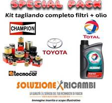 KIT TAGLIANDO FILTRI E OLIO TOYOTA RAV 4 II 2.0 D-4D 4WD 85KW 116CV 09/01-
