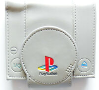 Playstation Game Bifold Wallet purse id 4 card slot zipped pocket magnetic close