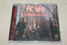 AT WAR Ordered to Kill CD 1998 Numbered Edition Tank Motorhead Anvil Bitch
