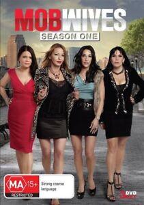 Mob Wives - Season 1- 3 Disc Set - New Region 4 DVD - FREE POST.