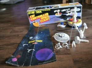 1976 STAR TREK Remco U.S.S. Enterprise Controlled Space Flight *FOR PARTS ONLY