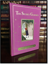 The Secret Garden Color Illustrated New Cloth Bound Gift Hardback with Ribbon