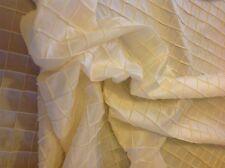 Ivory Dupioni Fabric, Pintuck Design, Beautiful Luxury, 7 1/3 Yards, R251rl