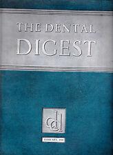 February 1938 The Dental Digest - Alveoloar Abscess, Denture Design