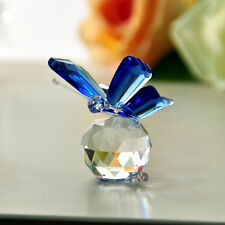 Crystal Butterfly Paperweight Cut Glass Wedding Favor Collectibles Gifts 5pcs
