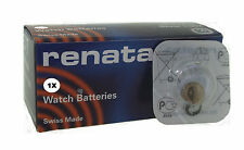 Renata 317 Silver 1.55v watch battery replaces SR516SW