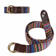 Belt Genuine Leather New Reflective Luminous Function Street Fashion Belt-Brown