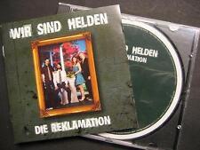 """WIR SIND HELDEN """"DIE REKLAMATION"""" - CD"""