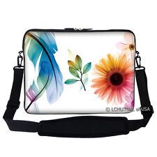 """15.6"""" Laptop Computer Sleeve Case Bag w Handle & Shoulder Strap Asus Acer 311"""