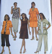 safari style women's plus Pattern 22-28 W SUNDRESS TANK TOP SKIRT PANTS JACKET