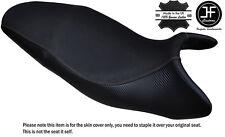 Agarre De Carbono Gris DS St Personalizado se ajusta a Triumph Street Triple 675 07-12 Cubierta de asiento