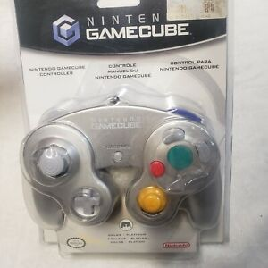 Official Nintendo Gamecube Wired Controller New in Packaging OEM Silver DOL-003
