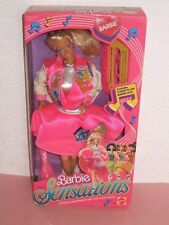 HTF VINTAGE Barbie NRFB 1987 Sensations Lovely doll
