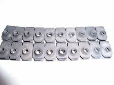 20  Qty-Extruded U Nut 1/4-20 Screw Size J-nut