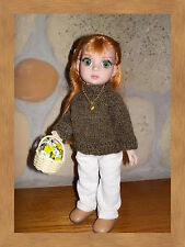 """Warm White cords for 10"""" Patsy handmade by Pink Heart Toggery"""