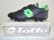 Vintage 80 90 LOTTO Donadoni 38 Shoes Calcio Soccer Milan Old Stock NOS OS