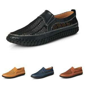 Summer Mens Water Sports Pumps Slip on Loafers Shoes Driving Moccasins Casual