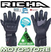RICHA ARCTIC HIPORA THERMAL WARM WINTER MOTORBIKE MOTORCYCLE WATERPROOF GLOVES