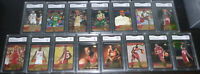2003-04 UD Lebron's Diary Complete Set Rookie GMA Graded NM-MT+ 8.5 or Better