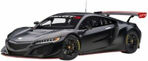 AUTOart 1/18 HONDA NSX GT3 2018 Black 81899 With Tracking NEW From Japan