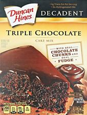 Duncan Hines Decadent Tripple Chocolate 21 oz