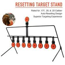 New listing Auto Reset Shooting Targets Stand w 9 1.7� Targets for Outdoor Shooting Spots