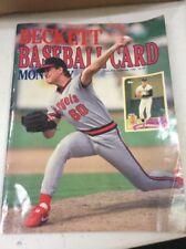 Beckett Baseball Magazine Monthly Price Guide Jim Abbott September 1989