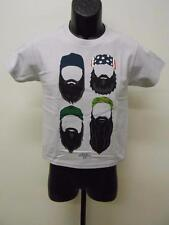 NEW DUCK DYNASTY 4 BEARDS YOUTH SMALL S SIZE 8 T-SHIRT