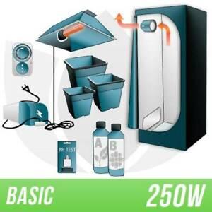 KIT INDOOR TERRA 250 WATT + GROW BOX BASIC - MARI-KA'