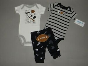 NWT, Baby boy clothes, 6 months, Carter's 3 piece set/   SEE DETAILS ON SIZE~